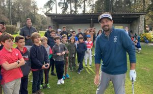 Victor Dubuisson de passage au Golf d'Opio-Valbonne - Open Golf Club