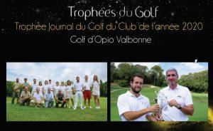 Opio Valbonne wins the Trophée Journal du Golf 2020 ! - Open Golf Club