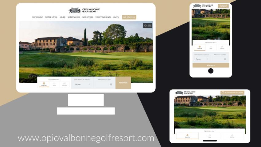 Un nouveau site pour Opio Valbonne Golf Resort ! - Open Golf Club