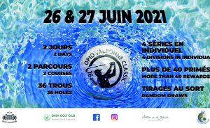 SAVE THE DATE ! OPV Classic 16ème Édition – 26 et 27 Juin 2021 - Open Golf Club